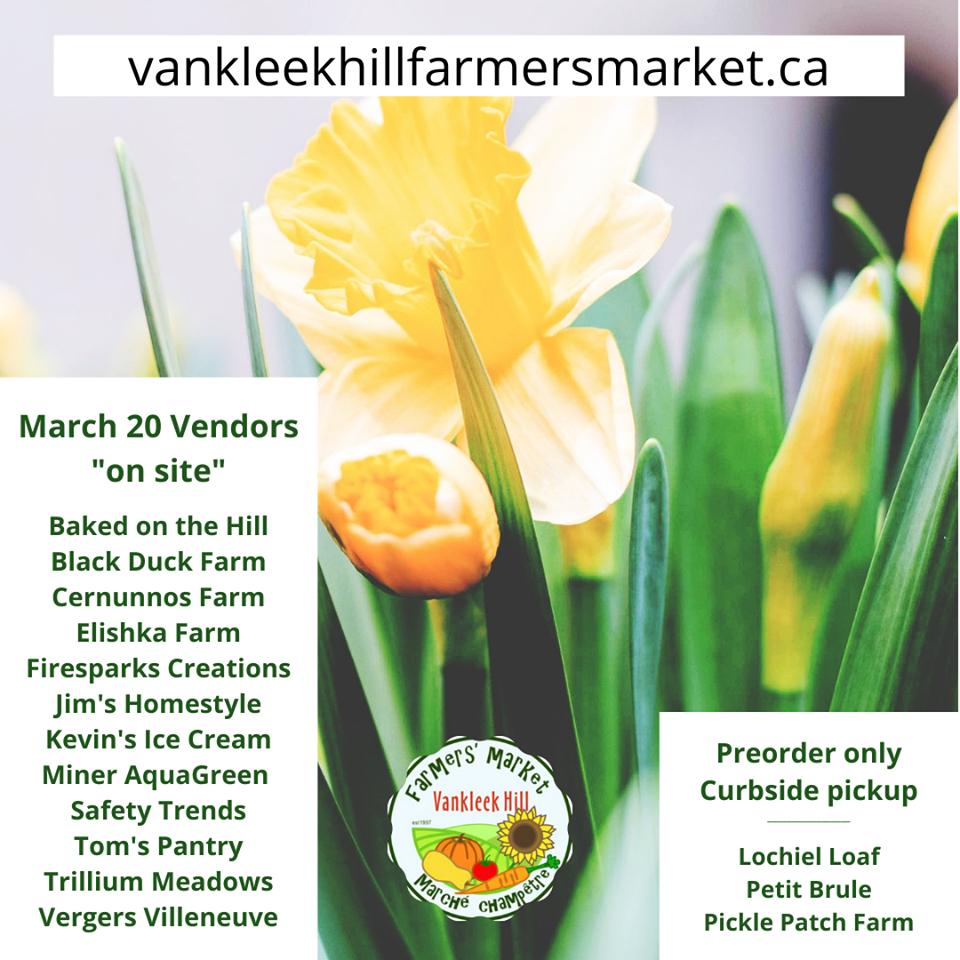March 20 vendor list canva