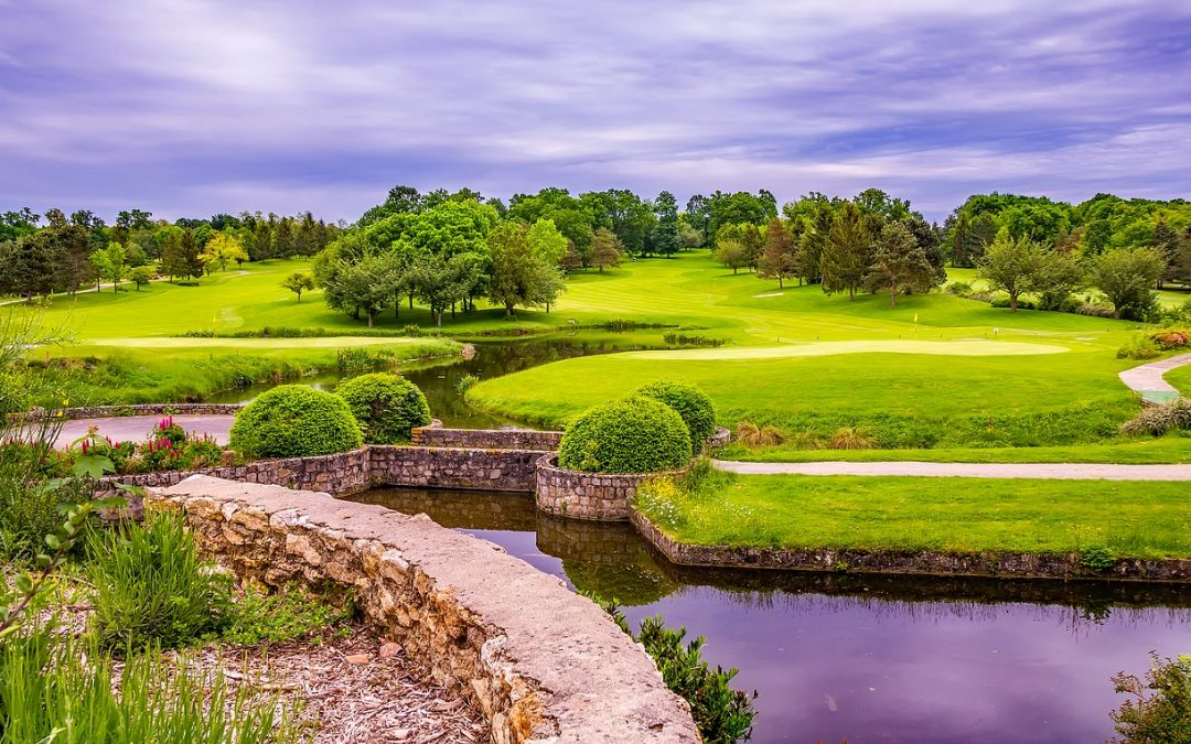 golf course in france